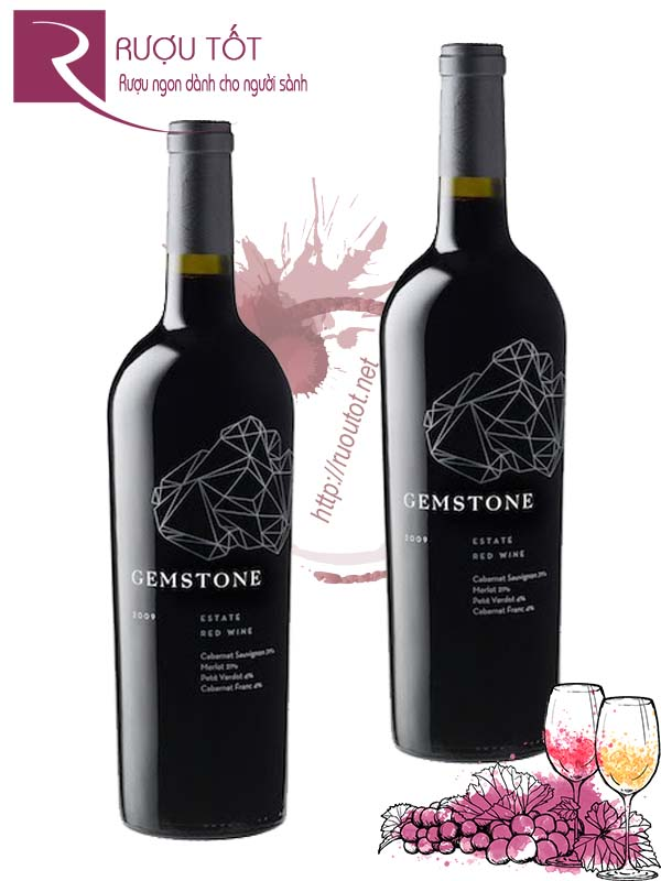 Rượu vang Gemstone Red Blend