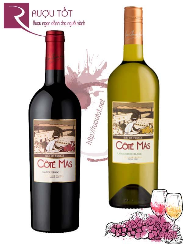 Vang Pháp Cote Mas Languedoc