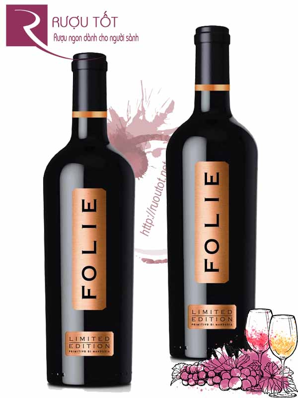 Rượu vang Folie Limited Edition