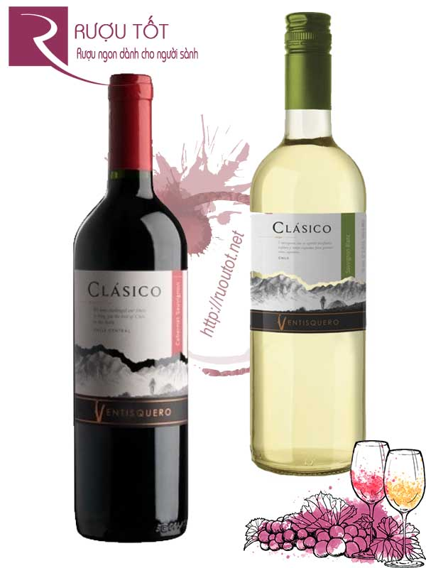Vang Chile Ventisquero Clasico (red-white)