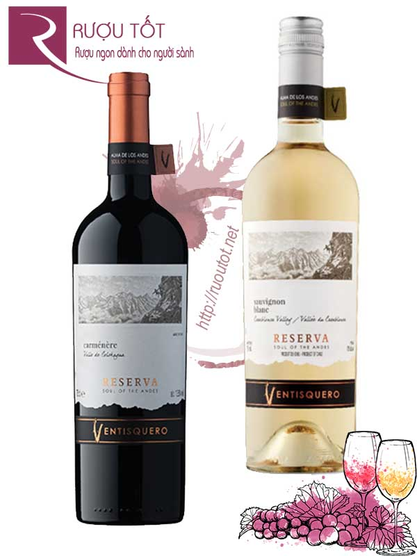 Vang Chile Ventisquero Reserva (red-white)