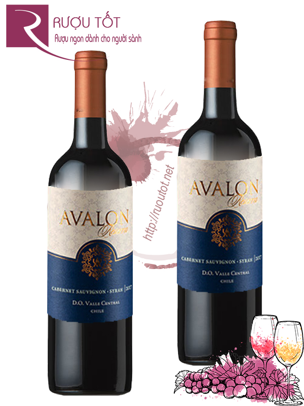 Vang Chile Avalon Reserva Red Blend Thượng hạng