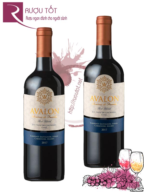 Vang Chile Avalon Reserva de Familia Red Blend