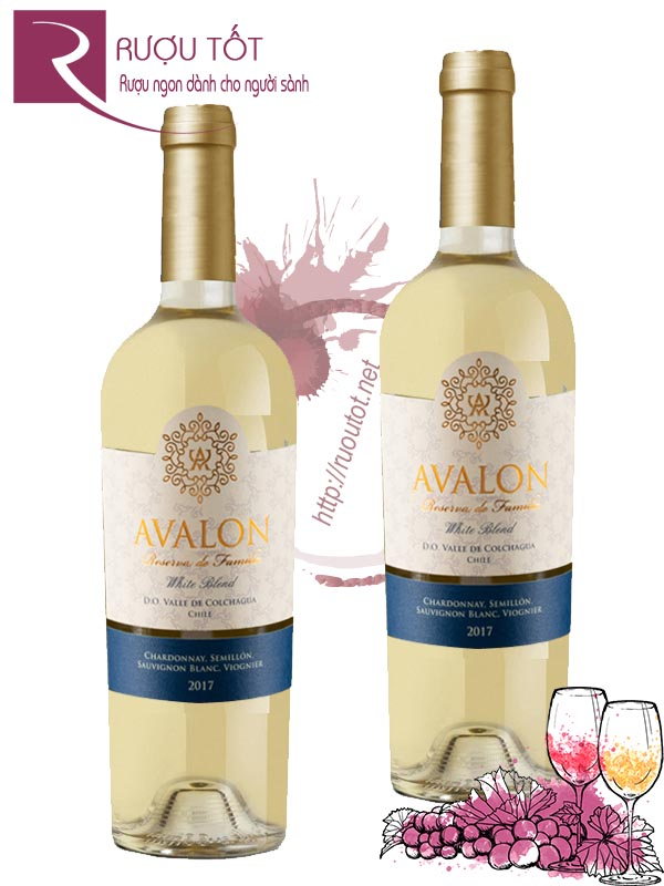 Vang Chile Avalon Reserva de Familia White Blend
