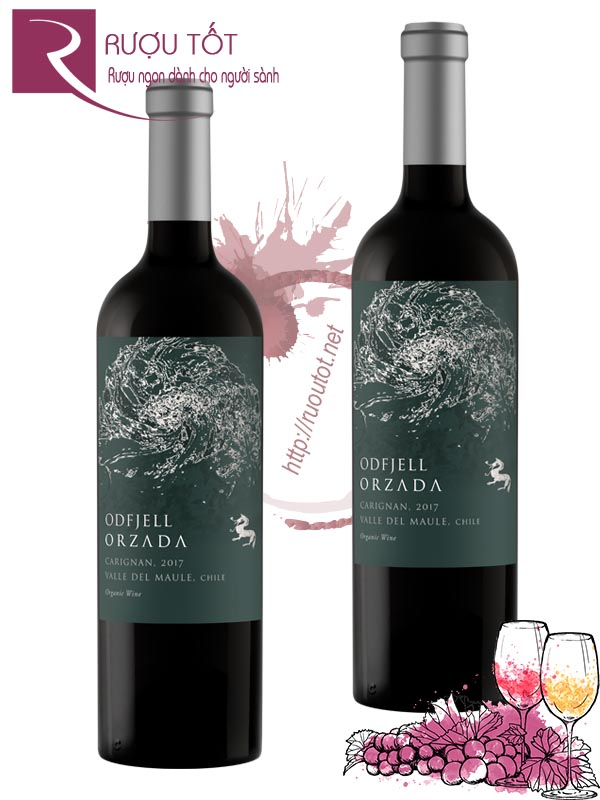 Vang Chile Odfjell Orzada Carignan Thượng hạng