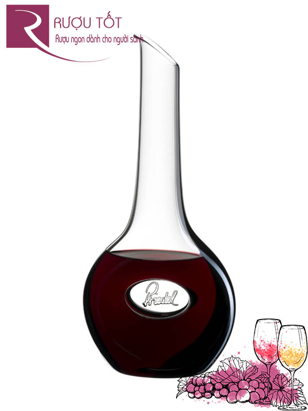 Decanter Riedel Trái Tim