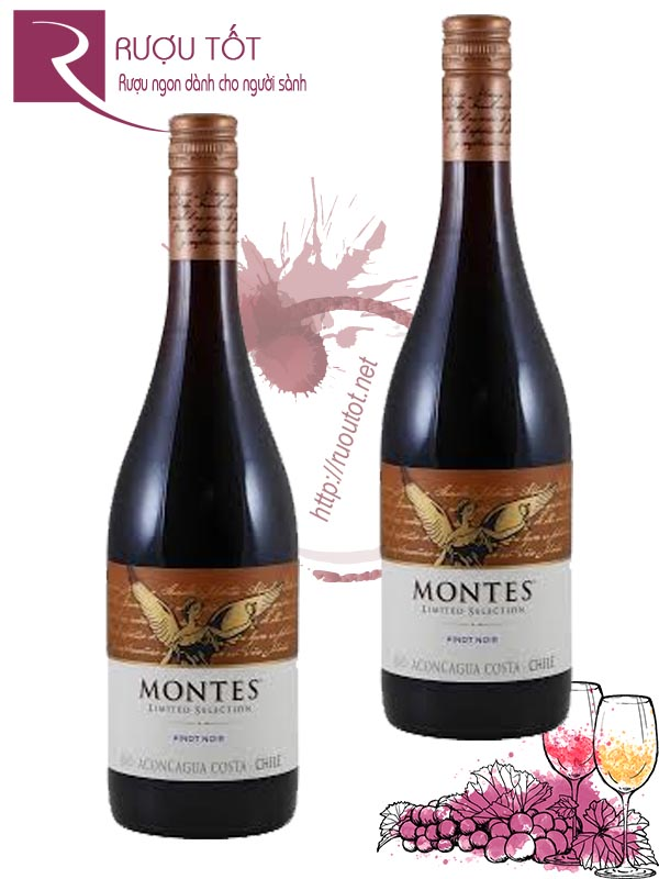 Rượu vang Chile Montes Limited Selection Pinot Noir